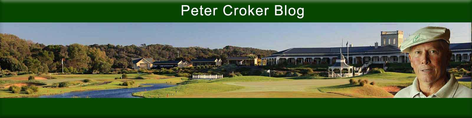 PETER CROKER'S BLOG